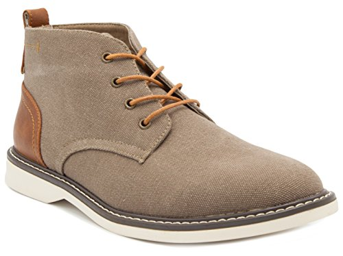 London Fog Mens Belmont Chukka Boot Brown 9 M US