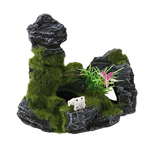 new-aquarium-fish-tank-ornament-rockery-mountain-cave-landscape-underwater-decor-6agreen-set29