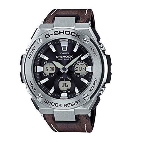Casio Reloj Analógico-Digital para Hombre Correa en Cuero GST-W130L-1AER: Amazon.es: Relojes