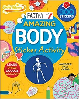 Gold Stars Factivity Amazing Body Sticker Activity