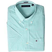Tommy Hilfiger Men's Short Sleeve Button-Down Shirt