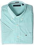 Tommy Hilfiger Mens Short Sleeve Button-Down Shirt