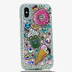Sparkling Rainbow Stones Case For iPhone Max