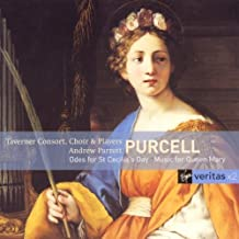 Purcell: Odes for St. Cecilia's Day - Music for Queen Mary / Taverner Consort