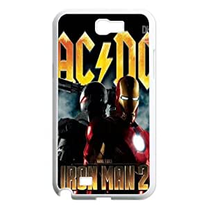High Quality Phone Back Case Pattern Design 4AC/DC,Rock Band Series- For Samsung Galaxy Note 2 Case