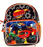 "Blaze And The Monster Machines 12"" Toddler Backpack Medium Backpack"