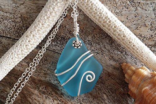 Beach Glass Pendant - 7