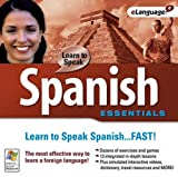 New Selectsoft Publishing Learn To Speak Spanish Essentials USE With Windows 98/Me/2000/Xp/Vista