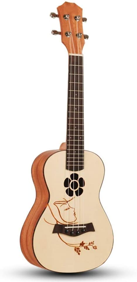 WYKDL For la ejecución de acordes Oficial Ukulele Starter Kit for ...