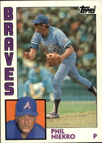 1984 Topps Baseball Card #650 Phil Niekro
