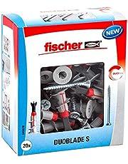 Fischer Duoblade – zelfborende gipskartonplug, voor lichte lasten