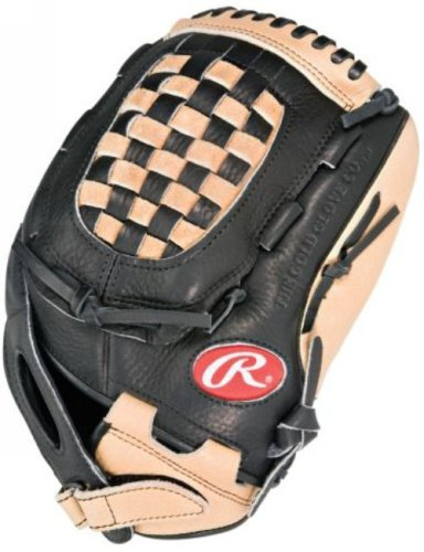 Rawlings RFP120--3/0 Fastpitch Series Basket Web Fastpitch Right-Handed Throw Baseball Glove (12 - Inches)