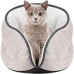DZT1968 Pet Kitten Cat Bed Cushion Mat Super Soft Warm Kennel Dog Puppy House (Gray)