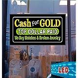 Cash For Gold LED Light up Sign