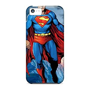 Perfect Superman Flying Cases Covers Skin For Iphone 5c Phone Cases