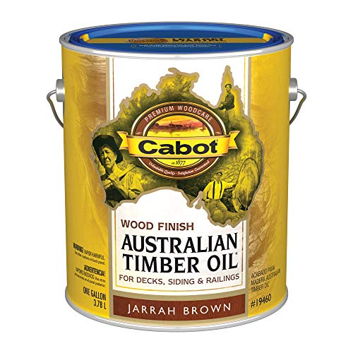 (CABOT SAMUEL INC 19460-07 AusTimGAL BRN WD Finish, 1 gal, Jarrah Brown)