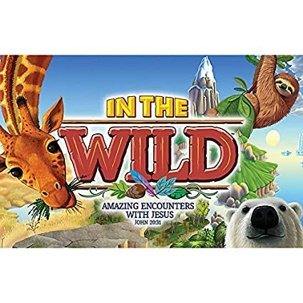 Amazon com: Postcards Pkg 50 - in The Wild VBS by LifeWay