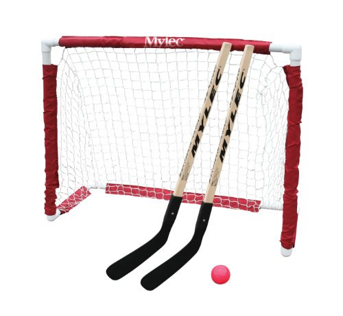 Stick Jr Goal (Mylec Jr. Hockey Goal Set, White)