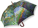 LaSelva Designs Monet Garden At Giverny Stick Umbrella