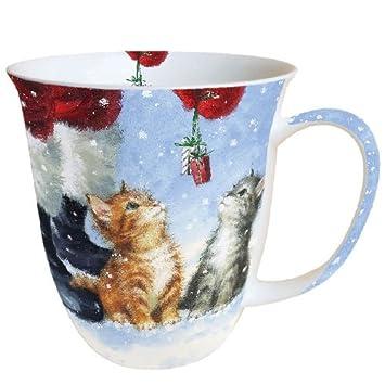 Ambiente Weihnachten Tasse K?tzchen 2?kleine Presents Becher 0,4?l ...