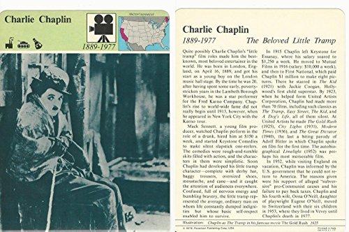 1979 Panarizon, Story Of America, 11.17 Charlie Chaplin, Actor