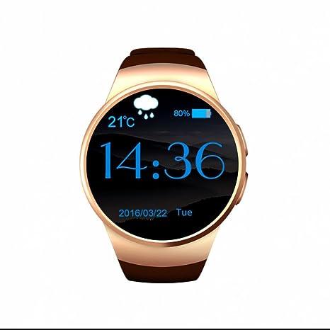 Reloj Inteligente para Hombre y Mujer,Smartwatch fácil de usar,Smartwatch anti-perdida