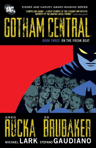 gotham central book - 3