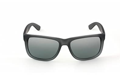ray ban justin polarized silver