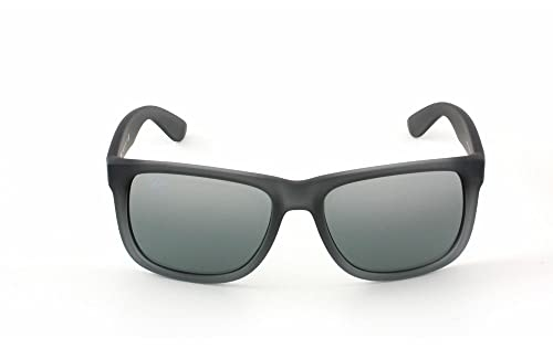 Amazon.com: New Ray Ban RB4165 852/88 Justin de hule gris ...