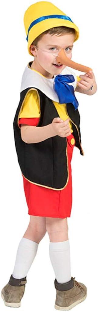 Krause & Sohn Infantil Disfraz Pinocho tamaño 104 (4 – 5 años ...