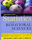Introductory Statistics for the Behavioral Sciences 9780470907764