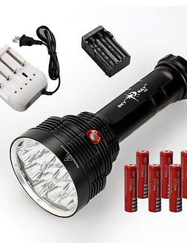 LT 33Modus 22000Lumen LED Taschenlampen 18650/26650Wasserdicht/wiederaufladbar/Impact Resistant
