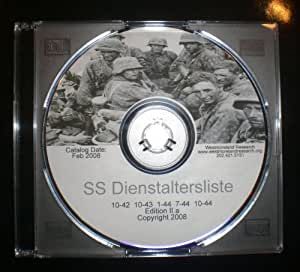 Amazon.com: SS Dienstaltersliste : 5 SS Officer Rank Lists