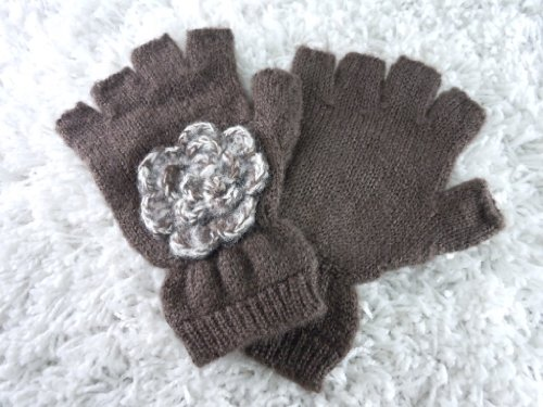 吸収する適応する山アメリカ発(San Diego Hat BRAND):KNG3082- Womens Fingerless Gloves