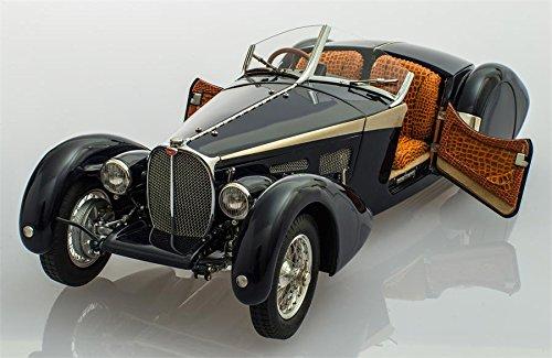 (CMC-Classic Model Cars Bugatti 57 SC Corsica Coupe 1938 LIM Alligator Vehicle)