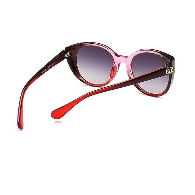 Amazon.com: Gafas de sol para mujer con diseño de ojo de ...