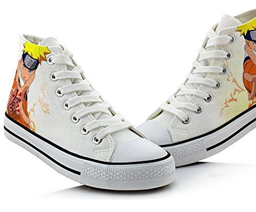 Naruto Anime Uzumaki Naruto Uchiha Sasuke Gaara Cosplay Shoes Canvas Shoes Sneakers Picture 3 3iYSRDb5v