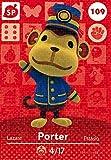 Nintendo Animal Crossing Happy Home Designer Amiibo Card Porter 109/200 USA Version