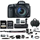 Canon EOS 7D Mark II 18-135 Wi-Fi Adapter Kit + Canon BG-E16 Grip & 128GB Bundle