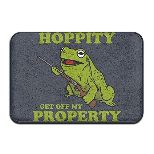 Kenny Hip Hop Frog Doormats Outdoor Doormats For Front Door Doormats For Entrance Way Outdoors Large