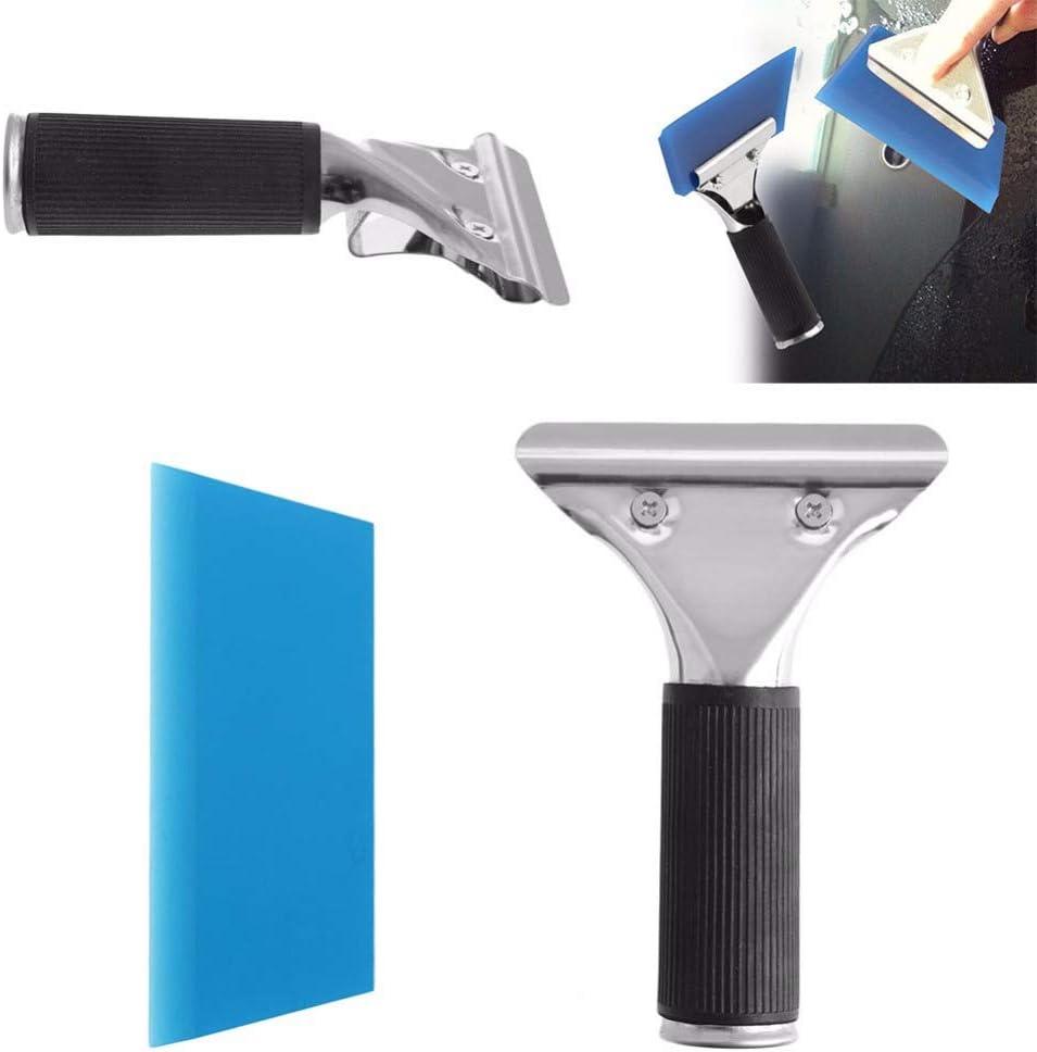 Blau Gummi Auto Tönung Rakel Auto Reinigung Werkzeuge A12