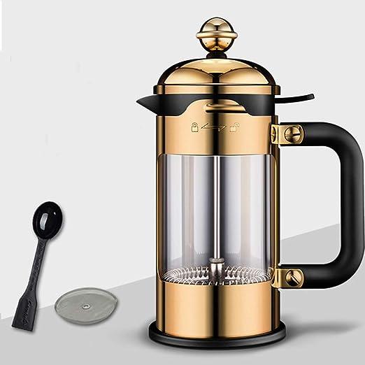 Sisyria Café francés Cafetera, Espresso de té y café con el Marco ...