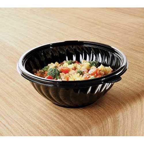 (Yoshi Ware Emi PrepServe Pet Black Bowl, 80 Ounce -- 25 per case. by YOSHIWARE)