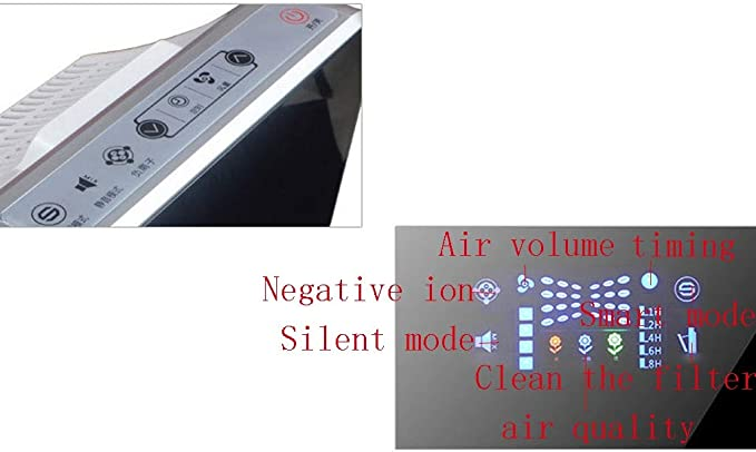 XMGJ Purificador de Aire, además de formaldehído Oficina PM2,5 ...