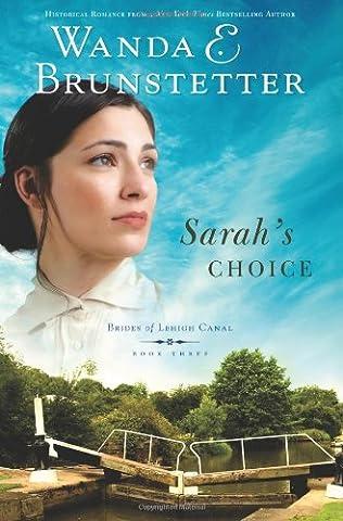book cover of Sarah\'s Choice