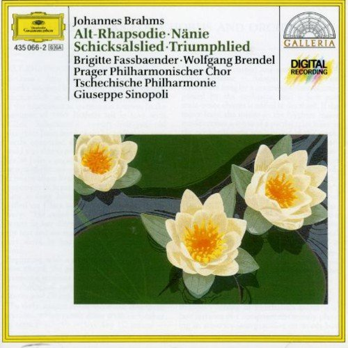 CD : Brigitte Fassbaender - Choral Works / Also Rhapsody / Song Of Destiny (Holland - Import)