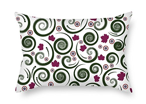 MaSoyy Throw Pillow Covers Of Vortex 20 X 30 Inches / 50 By 75 Cm,best Fit For Drawing Room,office,family,bar Seat,kids Girls 2 (30 Days Of Halloween On Abc Family)