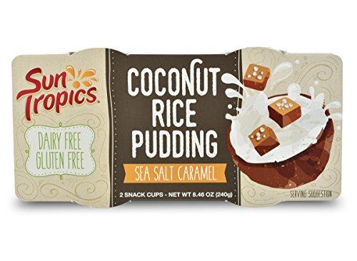SunTropics Coconut Rice Pudding Sea Salt Caramel 4.23oz, 12 cups…