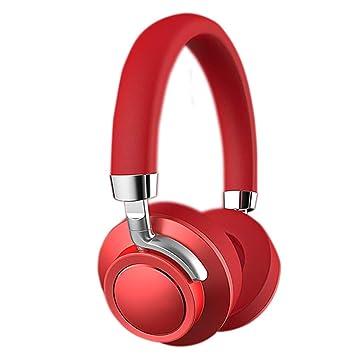 Auriculares Bluetooth, auriculares inalámbricos estéreo de alta fidelidad, orejeras protectoras de la memoria plegables