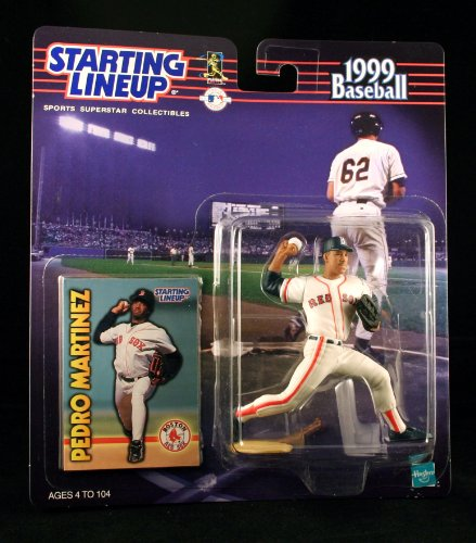PEDRO MARTINEZ / BOSTON RED SOX 1999 MLB Starting Lineup Action Figure & Exclusive Collector Trading Card
